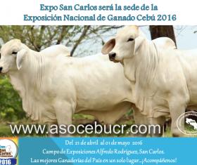 I Anuncio Exposición Nacional 2016