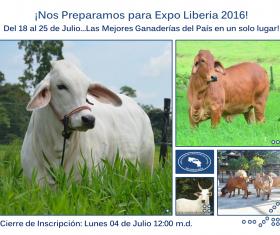 Invitación Expo Liberia 2016