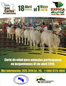 EXPICA ROTATIVA COSTA RICA 2018!